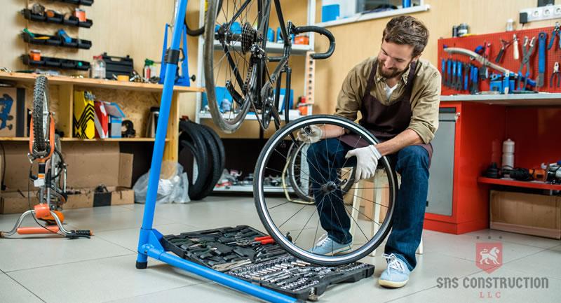 Five steps to a clean garage workshop